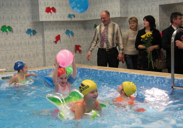 20. novembrī 2007g. atverās rekonstruētais baseins.